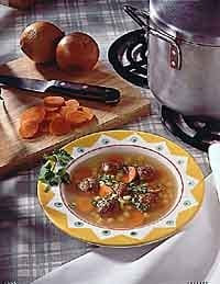 Albondigas Mexican Soup Photo