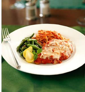 Weight Watchers Chicken Parmigina
