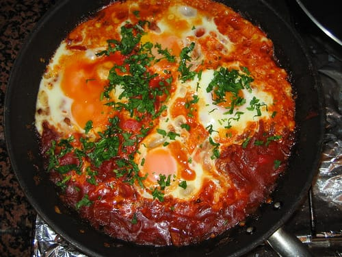 Shakshuka Recipe – Spicy Tomatoes and Eggs Breakfast from Israel ...