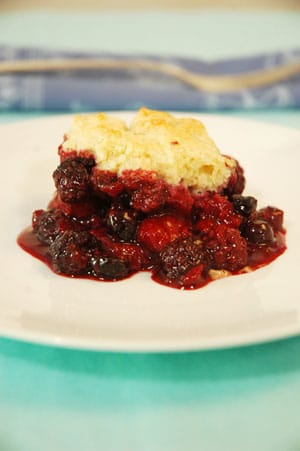 Weight Watchers Cherry Cobbler