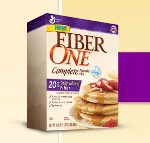 Fiber One Pancake Mix