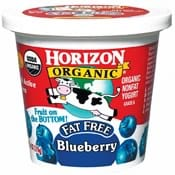 Horizon Blueberry Yogurt