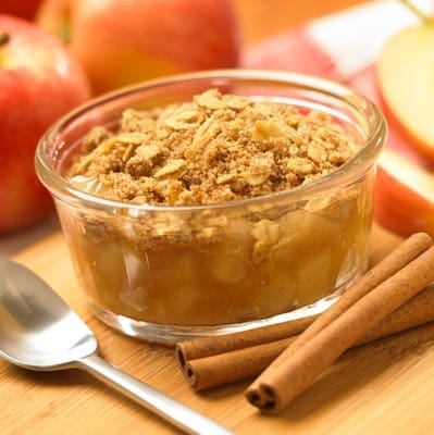 apple streusel