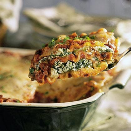Spinach and Chicken Lasagna Recipe