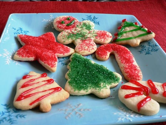 But the traditional Christmas cookie recipe can be pretty caloric.