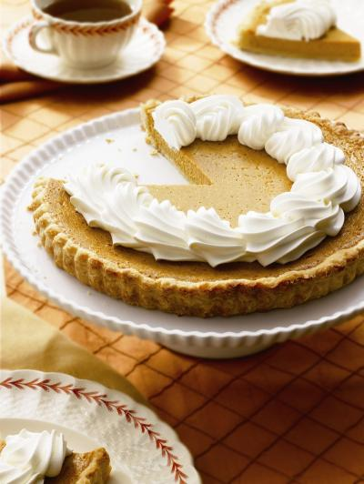 Christmas Pumpkin Pie