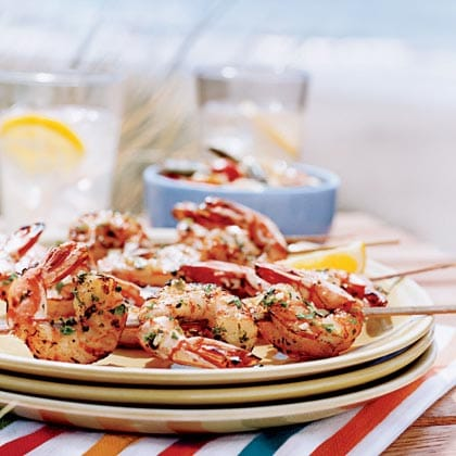Weight Watchers Shrimp Skewers Recipe