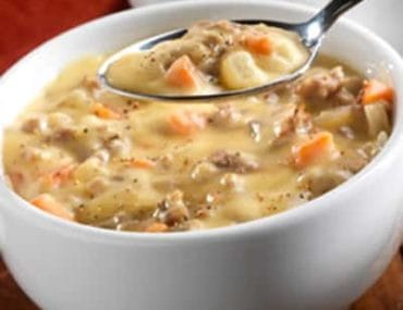 bacon potato chowder