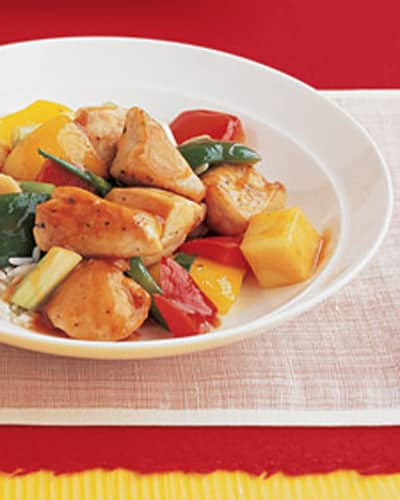 Sweet and Sour Chicken Crock Pot Recipe