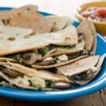 Beef and Spinach Quesadillas Recipe – 2 Points