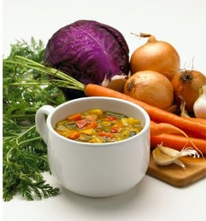 Weight Watchers Vegetable Soup Recipe - 0 Zero Weight Watcher Points Soup - LaaLoosh