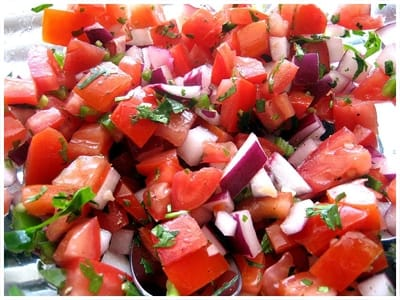 Pico de Gallo Salsa Recipe - 0 Point Total - LaaLoosh