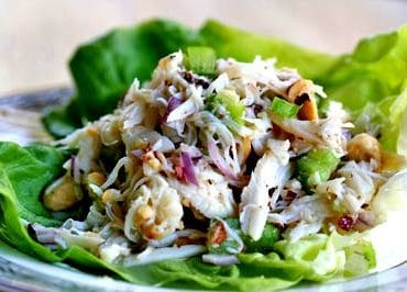 avocado crab salad