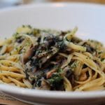 Light Pasta with Mushrooms and Garlic Recipe – 2 Points