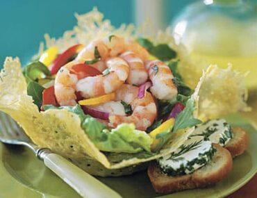 lemon basil shrimp