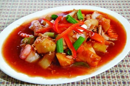 Sweet and Sour Stir Fry Chicken