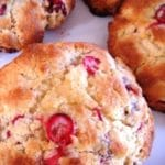 Low Fat Cranberry Scones Recipe – 2 Points
