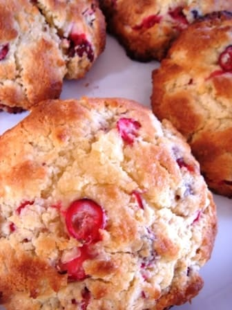 Low Fat Cranberry Scones