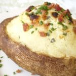 Cheesy Twice Baked Potatoes Recipe – 3 Points