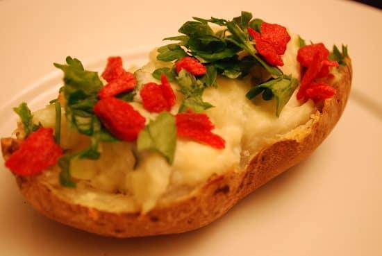Cheesy Twice Baked Potatoes
