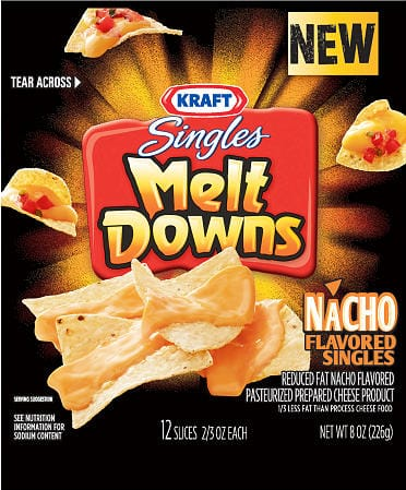 Kraft Singles Meltdowns