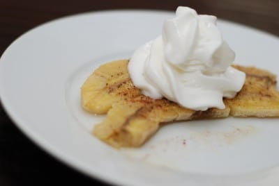 Baked Bananas Foster