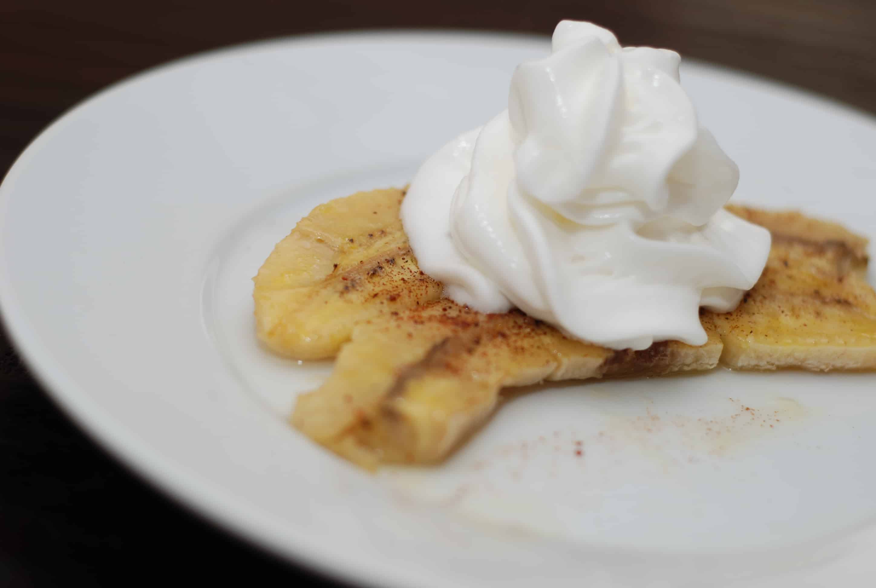 Baked Bananas Foster Recipe - 3 Point Total - LaaLoosh