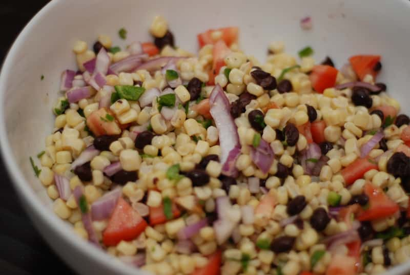 Black Bean and Corn Salad Recipe - 2 Point Total - LaaLoosh