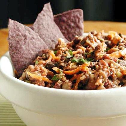 Black Bean Dip Recipe - 1 Point Total - LaaLoosh