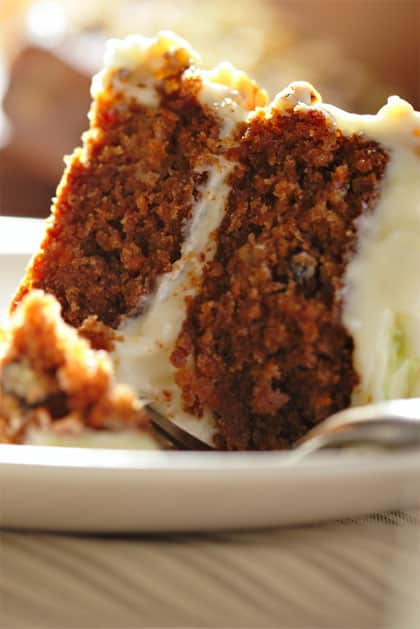 Excellent Carrot Cake Recipe 4 Points Laaloosh Personalised Birthday Cards Paralily Jamesorg