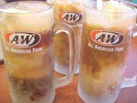 diet root beer float