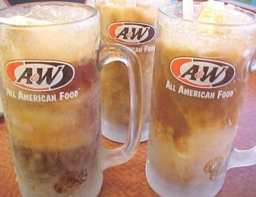 diet root beer float