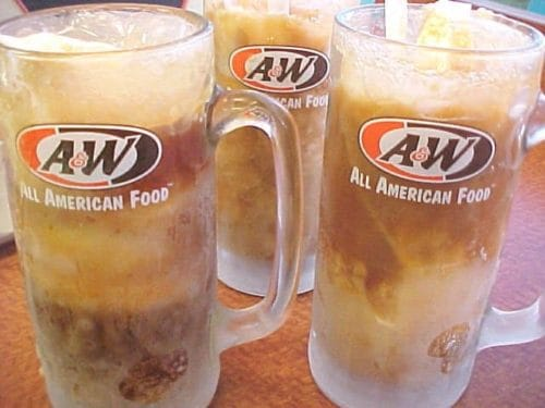 Diet Roat Beer Float