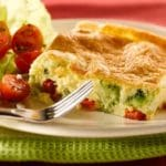 Ricotta and Broccoli Frittata Recipe, with Bacon – 1 Point