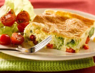 ricotta and broccoli frittata