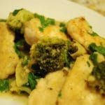 Lemon Garlic Chicken Recipe with Broccoli – 3 Points