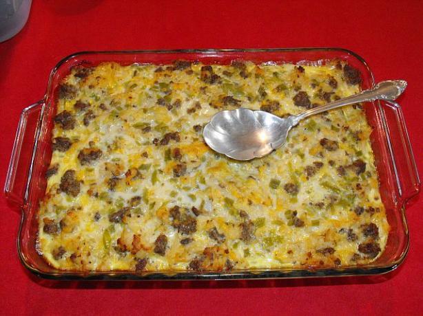 Sausage and Potato Casserole Recipe - 5 Points + - LaaLoosh