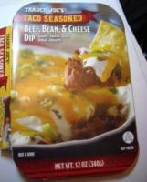 beef cheese bean dip