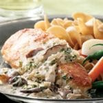 Chicken Breasts with Mushroom Cream Sauce Recipe – 5 Points