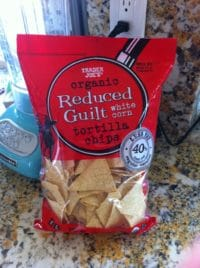 trader joes organic reduced guilt tortilla chips