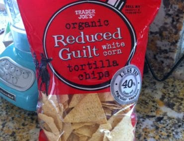 trader joes organic reduced guilt tortilla chips