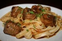 lemon rosemary turkey meatballs