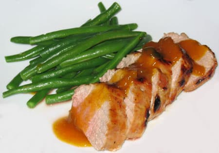Roast Pork Loin with Apricot Glaze