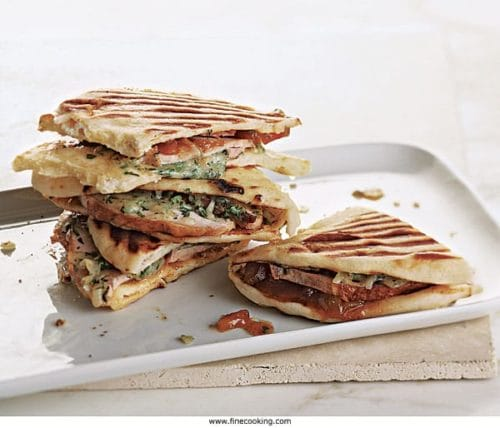 Turkey and Provolone Panini