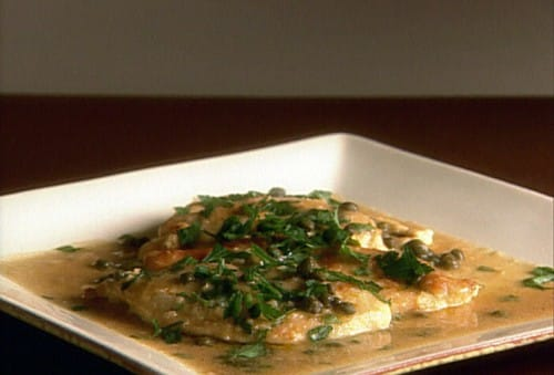Low calorie chicken piccata recipe 5 points laaloosh photo credit food network forumfinder Choice Image