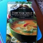 Trader Joe's Tom Yum Soup with Spinach Mushroom Wontons – 6 Points