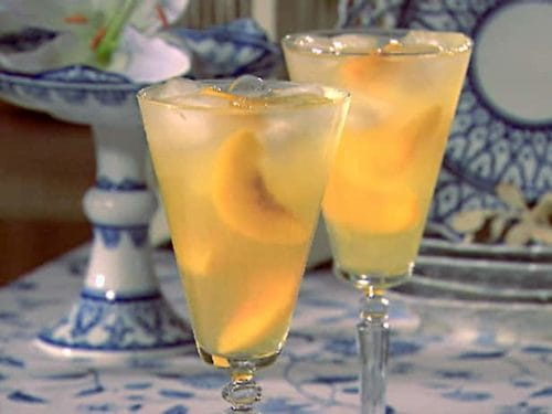 Diet Peach Wine Cooler