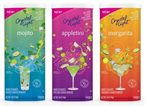 Crystal Light Mocktails