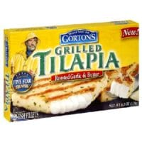 gortons roasted garlic and butter grilled tilapia
