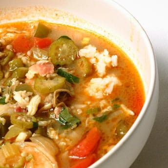 Light Seafood Gumbo